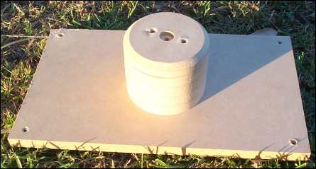 Photo of a mould for making joiners for PVC pipe
