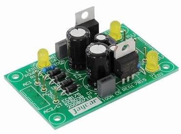 Photo of Power supply board