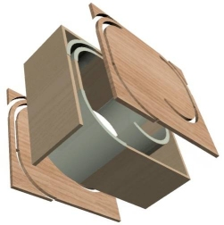 Long port options for subwoofers